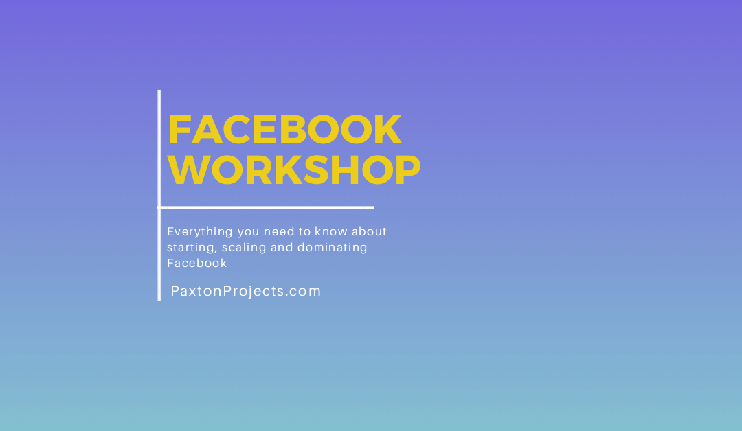 Facebook Workshop -AppSumo's Summit SumoCon