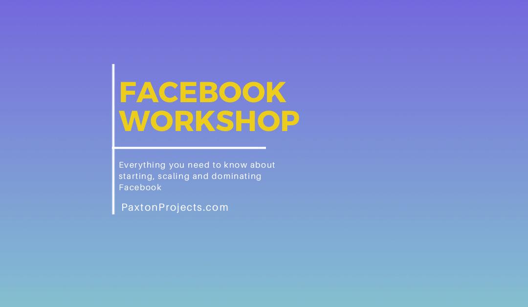 Facebook Workshop -AppSumo's Summit SumoCon