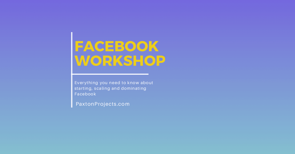 AppSumo - SumoCon - Facebook Workshop