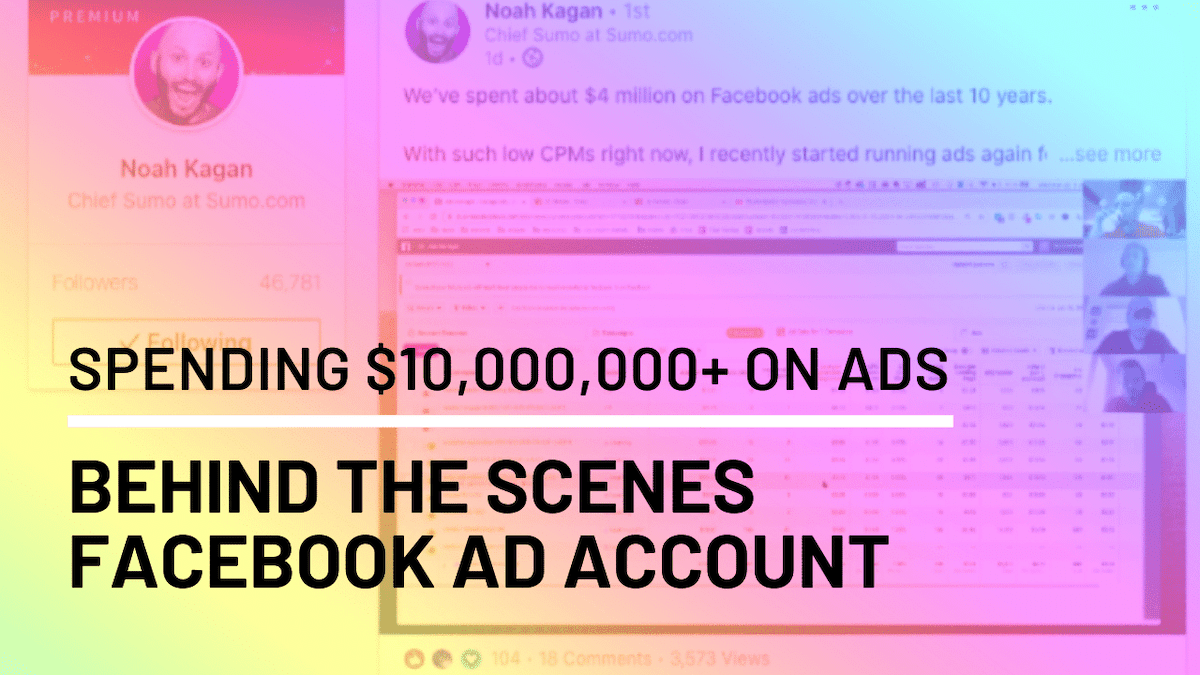 Managing 10 million ad account