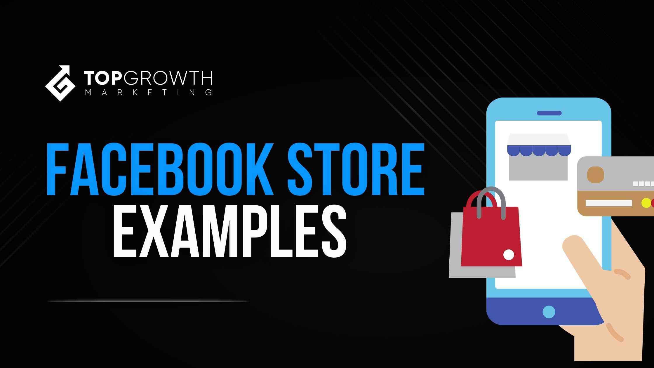 facebook store examples