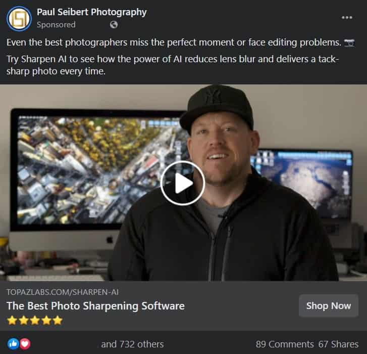 influencer marketing on facebook example paul seibert