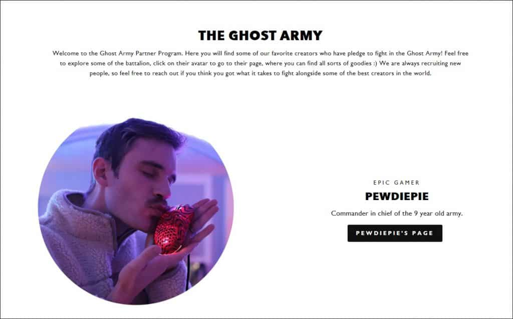 shopify hack product collab with pewdiepie